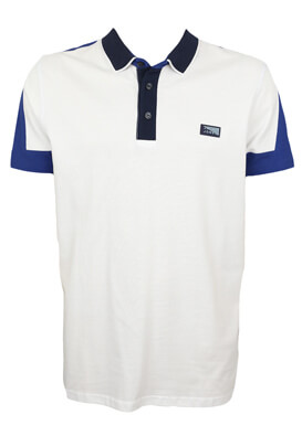 Tricou polo Jck and Jo Saul White