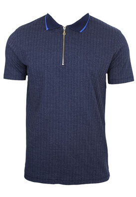 Tricou polo Jck and Jo Don Dark Blue