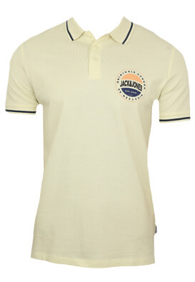 Tricou polo Jck and Jo Ryan Light Beige
