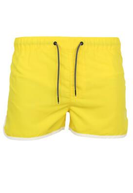Pantaloni scurti de baie Jck and Jo Andy Yellow