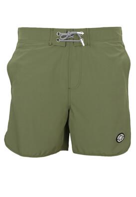 Pantaloni scurti de baie Jck and Jo Paul Dark Green