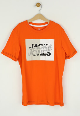 Tricou Jack and Jones Eddy Orange