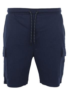 Pantaloni scurti Jck and Jo Hugo Dark Blue