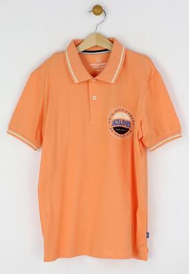 Tricou polo Jck and Jo Ted Orange