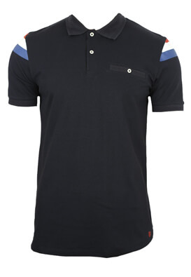 Tricou polo Jck and Jo Will Dark Blue