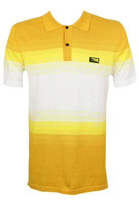 Tricou polo Jck and Jo Alex Yellow