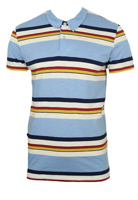 Tricou polo Jck and Jo Douglas Light Blue