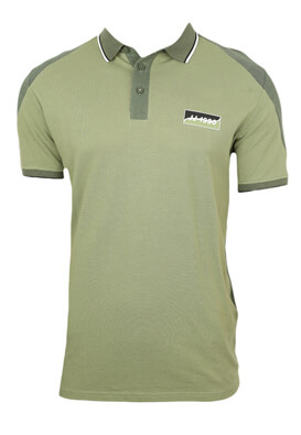 Tricou polo Jck and Jo Will Light Green