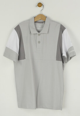 Tricou polo Jck and Jo Will Light Grey