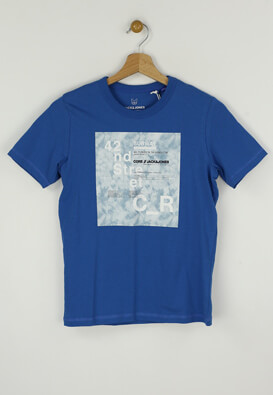 Tricou Jack and Jones Andy Blue
