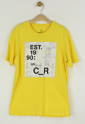 Tricou Jack and Jones Isaac Yellow