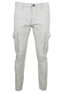 Pantaloni Jack and Jones Michael Light Grey