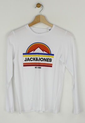 Tricou Jack and Jones Oliver White