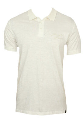 Tricou polo Jck and Jo Lukas White