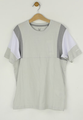 Tricou Jack and Jones Lionel Light Grey