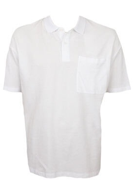 Tricou polo Jck and Jo Steven White