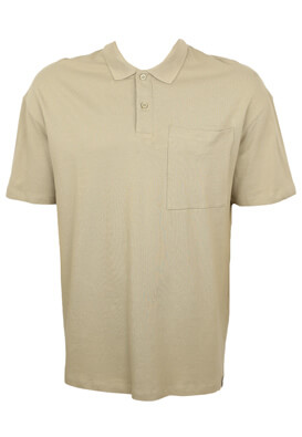 Tricou polo Jck and Jo Allan Beige
