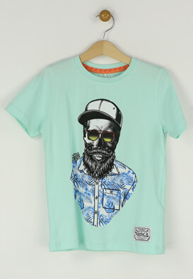 Tricou Name it Charlie Light Blue