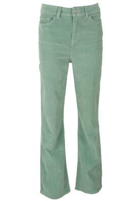 Pantaloni Vila Charlotte Light Green