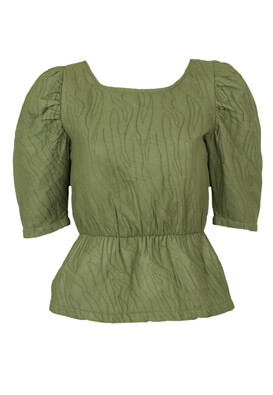 Bluza Vila Christine Dark Green