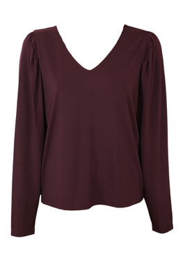 Bluza Vila Amanda Dark Purple