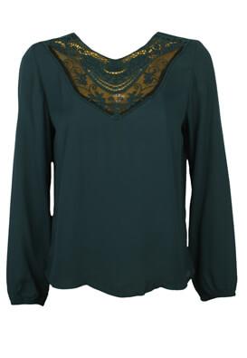 Bluza Jacqueline de Yong Kora Dark Green