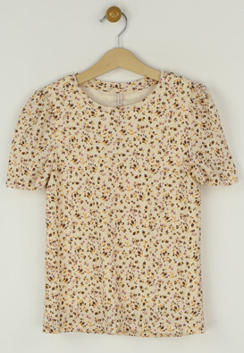 Tricou Only Gina Light Beige