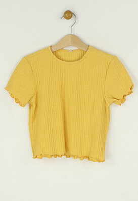 Tricou Only Betty Yellow