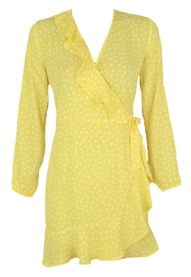 Rochie Only Paris Yellow