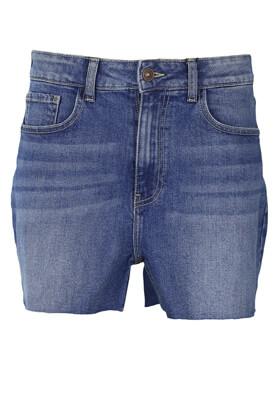 Pantaloni scurti Jacqueline de Yong Destiny Blue