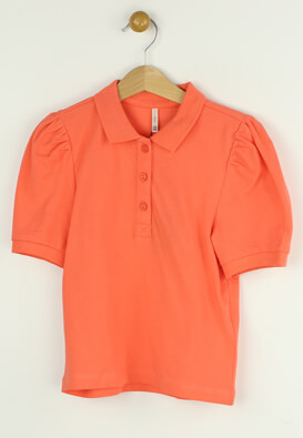 Tricou polo Only Paula Pink