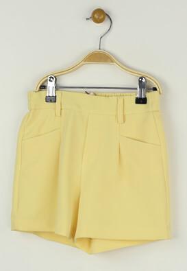 Pantaloni scurti Only Lydia Yellow