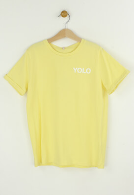 Tricou Only Laura Yellow