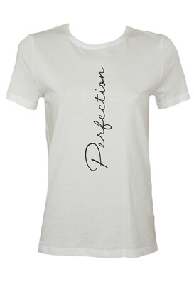 Tricou Only Lydia White