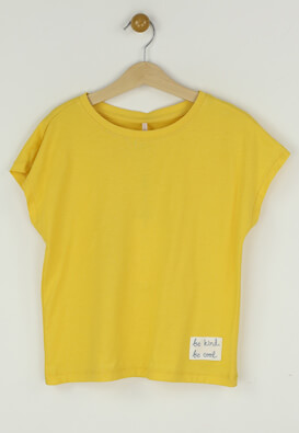 Tricou Only Luna Yellow