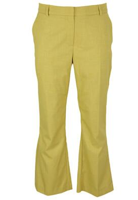 Pantaloni Selected Denise Yellow