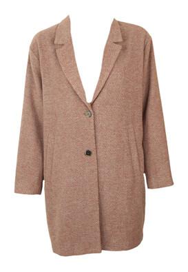 Palton Selected Fay Dark Pink