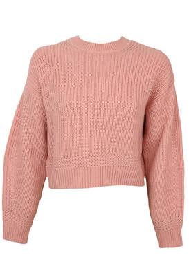 Pulover Bershka April Pink