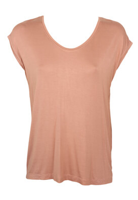 Tricou Pieces Shelley Light Pink