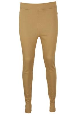 Pantaloni Pieces Lois Beige