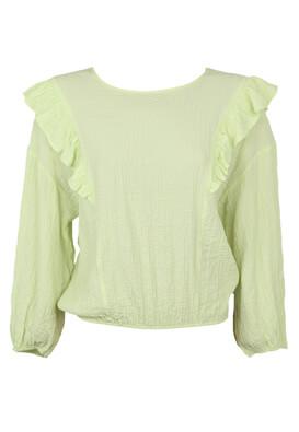 Bluza Pieces Paula Light Green