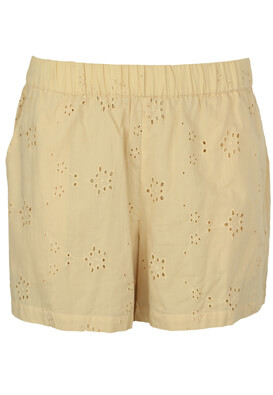 Pantaloni scurti Pieces Sarah Light Beige