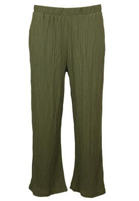 Pantaloni Pieces Lara Dark Green