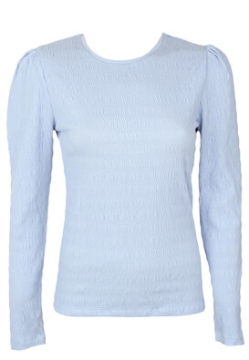 Bluza Pieces Susan Light Blue