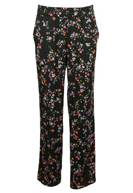 Pantaloni Pieces Linda Black