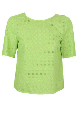 Tricou Pieces Madison Light Green
