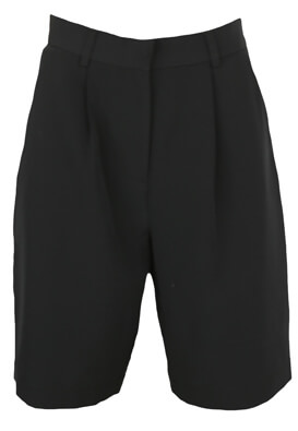 Pantaloni scurti Pieces Gabriella Black