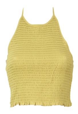 Top Pieces Elle Dark Yellow