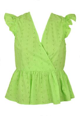 Tricou Pieces Erika Light Green