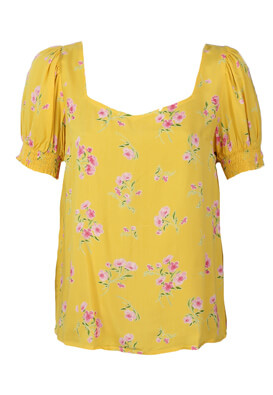 Tricou Pieces Bess Yellow